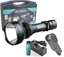 Olight M2X UT 1020 Lumen 885 Yard Long Throwing LED Flashlight w/ Charger - M3XS