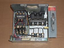 ALLEN BRADLEY 2100 BUL SIZE 1 MOTOR STARTER 30 AMP 600V FUSED MCC BUCKET NO DOOR