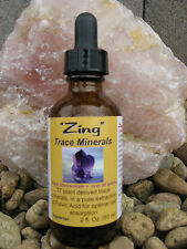 """ZING"" SUPER CONCENTRATED TRACE MINERALS & FULVIC ACID"