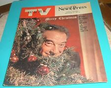 GLENDALE,CALIFORNIA TV WEEKS~VICTOR BORGE & ANTHONY QUINN~News Press Issues