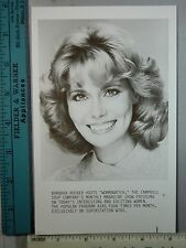 Rare Original VTG Barbara Rucker Womanwatch Campbell Soup Company WTBS TV Photo