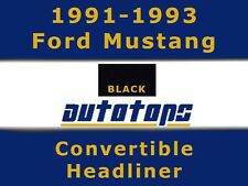 1991-1993 Ford Mustang Convertible top Headliner Head Liner
