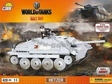 blocks Cobi Toys Hetzer Tank 3001 World of Tanks panzer Small Army bricks