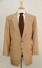 $3595 BRIONI 'Nomentano' Houndstooth Plaid Wool & Silk Dual Vent Jacket 46 48 L