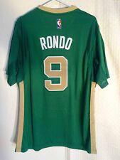Adidas SWINGMAN 14-15 NBA Jersey Celtics Rajon Rondo Green St. Pats sz XL