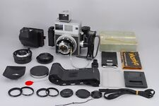 Excellent+++++ Mamiya Press Super 23 100mm 65mm 6x9 6x7 Full Set from Japan