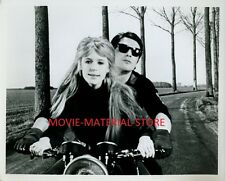 "Marianne Faithfull Alain Delon Girl On A Motorcycle Original 8x10"" Photo #L5867"