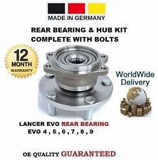 FOR MITSUBISHI LANCER EVO 4 5 6 7 8 9 1996--> REAR WHEEL BEARING & HUB KIT