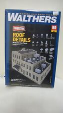 Walthers Cornerstone HO Roof Details Kit #933-3733 New in Box