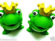 2 x Badetiere Bade Frosch  Badezubehör  Badespielzeug NEU
