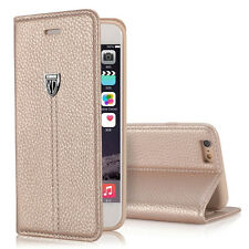 Luxury Magnetic Flip Cover Stand Wallet Leather Case For iPhone 6  Champagne