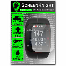 Screenknight polare M400 SMART WATCH Front Screen Protector INVISIBLE SHIELD