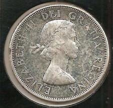 1964 CHOICE ABOUT UNCIRCULATED Canadian Half Dollar #1