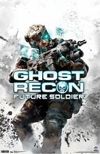 GHOST RECON FUTURE SOLDIER POSTER ~ SKULL 22x34 Video Game Tom Clancy