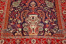 c1930s ANTIQUE PERSIAN SAROUK FAHAN RUG 3.8x5.2 HIGH KPSI_KORK WOOL