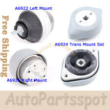 Fits 96-06 Audi A4 A6 S4 / 98-05 VW Passat B5 Engine Motor Trans Mount Set G118