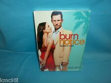 Burn Notice Season 1 One DVD Set NEW & SEALED Spies Don't Get Fired They Get