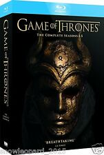 GAME OF THRONES THE COMPLETE SERIES 1 2 3 4 - 5 BOX SET BLU RAY SERIES R2 UK NEW
