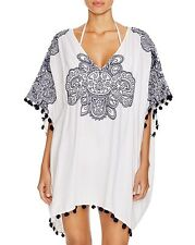 Nanette Lepore Henna Caftan Swim Cover Up, S