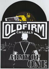 """The Old Firm Casuals """"Army Of One"""" 7"""" OOP NM /1500 Cock Sparrer Rancid UK Subs"""