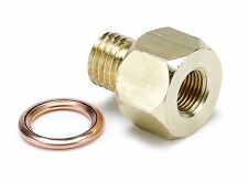 "Auto Meter 1/8"" NPT to 12mm x 1.5 Male Metric Gauge Adapter Oil Press & Temp"