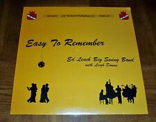 ED LEACH BIG SWING BAND STILL SEALED LP - EASY TO REMEMBER- KZP MUSIC STEREO 101