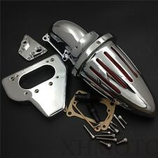 New Intake Bullet Air Cleaner Kits For 2002-2009 Honda Vtx 1800 R S C N F Chrome