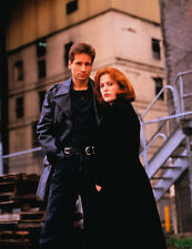 David Duchovny and Gillian Anderson UNSIGNED photo - B747 - The X-Files