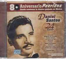CD - Daniel Santos NEW 24 Exitos 80 Aniversario Peerless FAST SHIPPING !