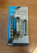 New - Project Pro 21 Piece Offset Ratcheting Drive Set