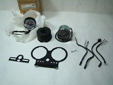 Harley FXR Police speedo + tach + mount + lights FXRP gauges NOS WOW!!! EPS16664