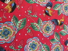 Possibilities by Nancy Smith Quilting Treasures cotton fabric Red Rooster 1/2 yd