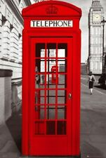 TRAVEL POSTER London Telephone Booth Phone