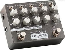 NEW EMPRESS EFFECTS MULTIDRIVE EFFECTS PEDAL w/ FREE CABLE FREE US SHIPPING