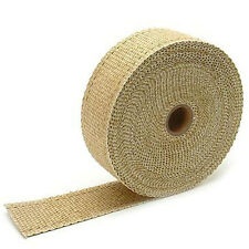 15m 25mm Tan Fiberglass Exhaust Wrap