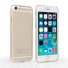 """Thin Crystal Clear Hard Plastic Snap On Case Back Cover Apple iPhone 6 6S 4.7"""""""