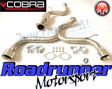 "COBRA FOCUS ST225 INOX dispositivo di scappamento Venom 3 ""CAT BACK-Loud FD24-tp38"
