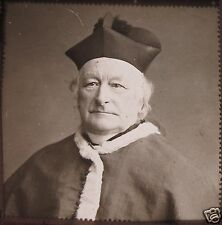 Glass Magic Lantern Slide UNIDENTIFIED CATHOLIC CARDINAL NO1 C1900 PHOTO