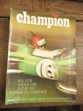 revue du sport automobile Champion n° 46 de Octobre - Novembre  1969