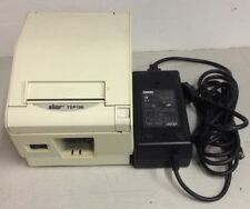 Star Micronics TSP700 POS Thermal Printer Parallel Interface w/ AC Adapter