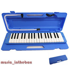 Promotion /  Woodnote Brand - 37 Key Beautiful Blue Melodica & Hard Shell Case