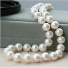 Charmming!9-10mm White Akoya Cultured Pearl Necklace Choose Length