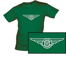 T-Shirt Logo IWL Berlin Roller Industriewerk Ludwigsfelde Wiesel Troll Campi