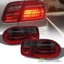 Red Smoke 1996-2002 Mercedes-Benz W210 E300 E320 E430 LED Tail Lights Lamps Ser