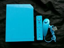 Nintendo Wii Limited Edition Blue Console (NTSC) w/ Motion Plus & Wii Sports