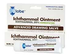 3-PACK Ichthammol Ointment USP 20% Ointment (Drawing Out Salve) (1 oz Tube)