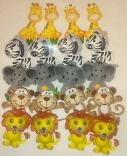 20pcs Baby Shower Safari Animals Decoration Girl/Boy