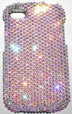 CRYSTAL AB Rhinestone Bling Back Case for BlackBerry Q10 with Swarovski Elements