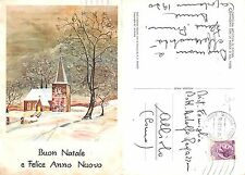 Buon Natale Felice Anno Nuovo Merry Christmas Happy New Year VG ALBIOLO(A-L 274)