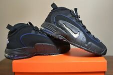 Nike Air Max Penny 1 All Star Black Royal Blue Mens Basketball Shoes US Sz13 NIB